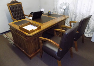 Executive Office Desk & Chairs