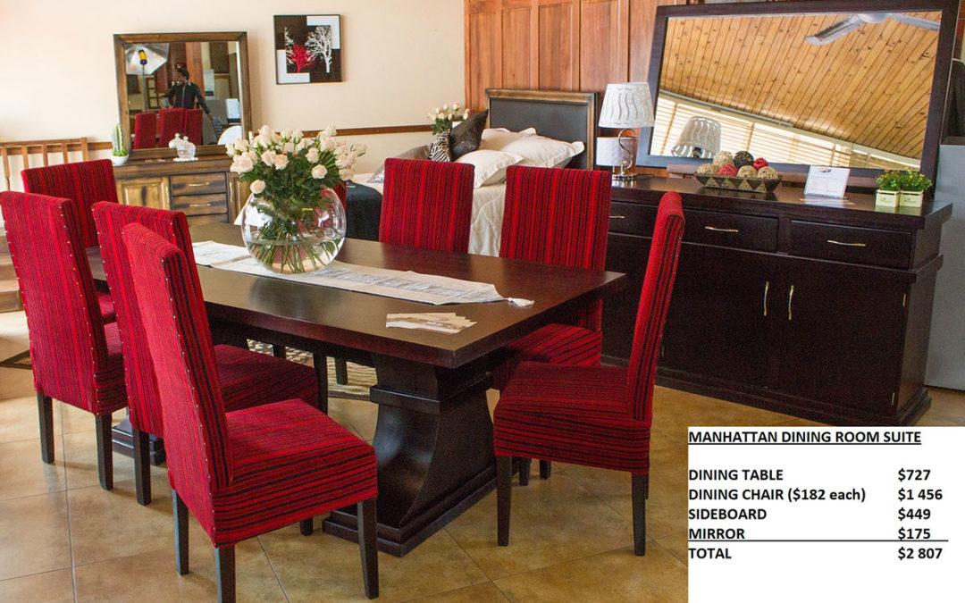 Manhattan Dining Room Suite