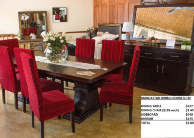 Dining Room Suites - Roost Custom Manufacturing