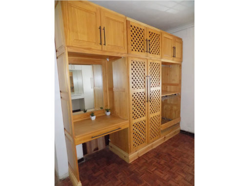 Pine Built In Cupboard