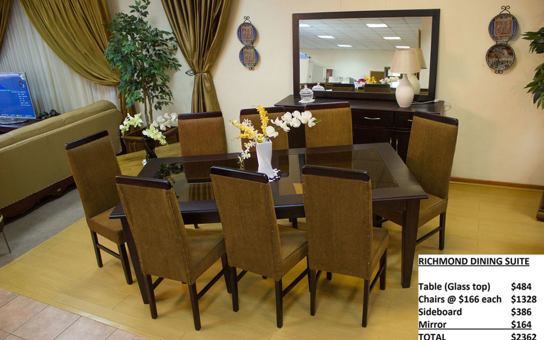 Richmond Dining Room Suite