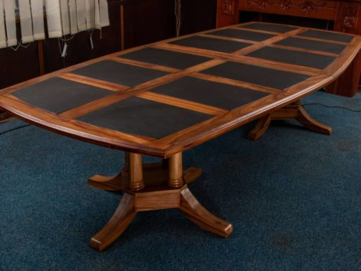 Vintage boardroom table 10 seater